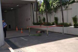 Nghi án người đàn ông tự tử tại tòa nhà Saigon Trade Center ở Sài Gòn