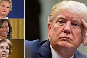 Những bóng hồng có thể 'hạ gục' Tổng thống Mỹ trong cuộc bầu cử 2020
