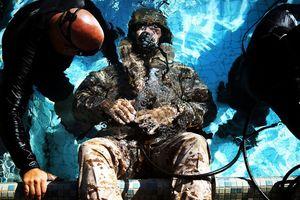 Cận cảnh những bài tập khắc nghiệt của Thủy quân lục chiến Mỹ