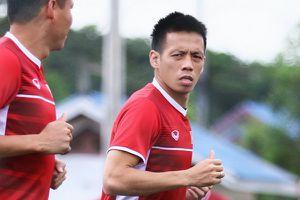 Văn Quyết chấn thương, Việt Nam trở lại sân tập ngay sau chiến thắng