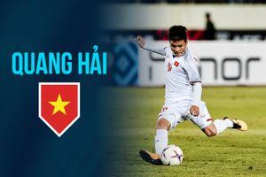 Những bàn thắng đẹp của Quang Hải trong màu áo Việt Nam