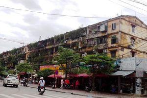 Hà Nội giao 20 đơn vị lập quy hoạch chung cư cũ