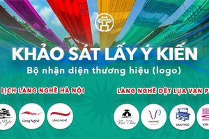Khảo sát lấy ý kiến logo du lịch làng nghề Hà Nội, làng lụa Vạn Phúc