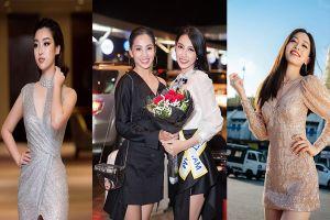 Hoa hậu Tiểu Vy, Đỗ Mỹ Linh nhắn nhủ Thùy Tiên trước giờ G Miss International 2018