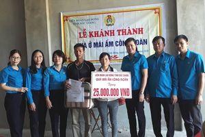 Bắc Giang: Khánh thành nhà 'Mái ấm Công đoàn' cho đoàn viên hoàn cảnh khó khăn