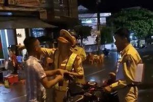 Vụ tranh cãi với CSGT ở Quy Nhơn: Xử lý người đăng tải clip