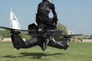 NÓNG: Cảnh sát huấn luyện lái môtô bay 'Bọ cạp', bắt tội phạm