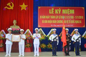 Lữ đoàn 680 đón nhận Huân chương bảo vệ Tổ quốc hạng Ba