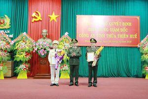 Đại tá Nguyễn Quốc Đoàn giữ chức vụ Giám đốc Công an tỉnh TT-Huế