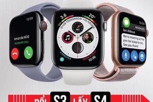Minh Tuấn Mobile thu Apple Watch S3, đổi Apple Watch S4
