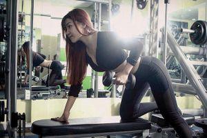 Học cách đốt mỡ bụng, giảm cân của bạn gái thủ môn Văn Lâm