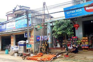 Thanh Hóa: Rạn nứt nhà do thi công kênh thủy lợi