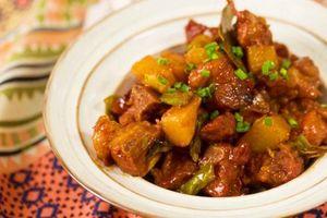 Món ngon mỗi ngày: Cách làm món sườn kho khoai tây lạ miệng