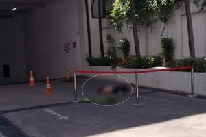 Người đàn ông bất ngờ rơi từ tầng cao tòa Saigon Trade Center, tử vong