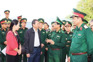 Sẵn sàng cho Chương trình 'Giao lưu hữu nghị Quốc phòng biên giới Việt Nam-Trung Quốc' lần thứ 5