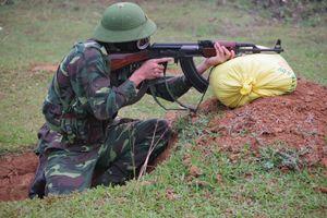 BĐBP Nghệ An kiểm tra bắn đạn thật năm 2018