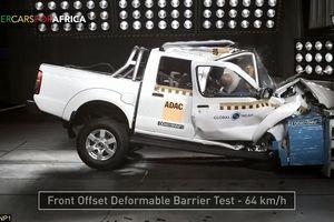 Nissan Navara gây thất vọng với '0 sao' trong bài thử va chạm