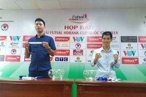 Sôi nổi giải futsal HDBank Cúp Quốc gia 2018