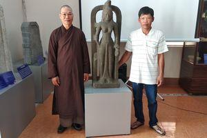 Tặng bằng khen cho người phát hiện và giao nộp tượng nữ thần Saraswati trị giá 7,5 tỉ đồng
