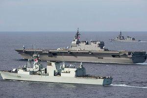 Tàu chiến nước ngoài 'ùn ùn' tới Biển Đông, thông điệp gì cho Trung Quốc?