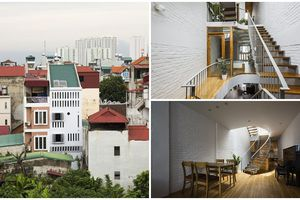 Ngôi nhà 41m2 ở quận Thanh Xuân khiến báo Tây sửng sốt vì thiết kế quá ấn tượng