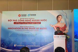 Chuyên gia ngành nước Đài Loan chia sẻ kinh nghiệm và cập nhật công nghệ tại triển lãm VIETWATER 2018