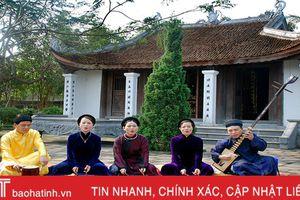 Hát nói của Nguyễn Công Trứ với nghệ thuật ca trù