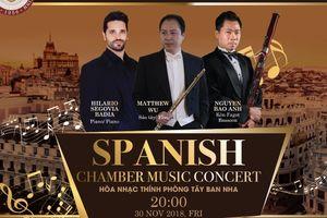 Nghệ sĩ piano nổi tiếng Hilario Segovia biểu diễn tại TP.HCM