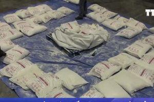 Tàu chở hàng từ Iran vận chuyển hàng trăm kg heroin đến Italy