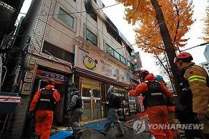 Ít nhất 6 người thiệt mạng trong vụ cháy lớn tại khu nhà 3 tầng