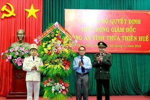 Thừa Thiên - Huế có Giám đốc Công an tỉnh mới