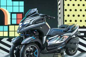 Yamaha công bố nguyên mẫu xe ga 'khủng' 3CT cho dân đô thị