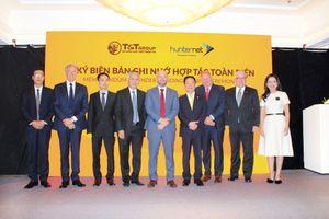 Tập đoàn T&T Group ký biên bản ghi nhớ hợp tác toàn diện với Hiệp hội HunterNet
