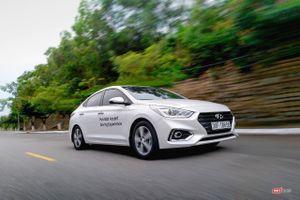 Vượt qua Grand i10, Accent tạm chiếm ngôi vương xe Hyundai bán chạy nhất tháng