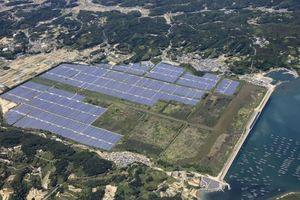 Khánh thành nhà máy điện mặt trời quy mô lớn ở miền Tây Nhật Bản