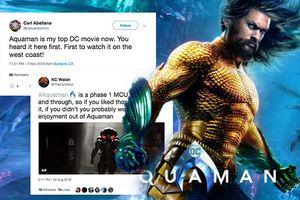 Buổi chiếu thử 'Aquaman' nhận phản hồi tích cực, có khả năng 'cướp vương miện' của 'Wonder Woman'?