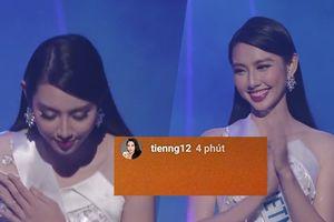 Rớt khỏi Top 15 Hoa hậu Quốc tế 2018, Thùy Tiên vội vàng gửi 5 ký tự ngắn gọn này đến fan Việt