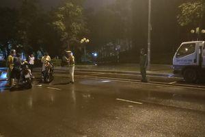CSGT ngã khi chạm vào người vi phạm: Thanh niên trong clip lên tiếng
