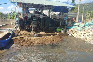 Điện Biên: Sông Nậm Rốm tiếp tục bị ô nhiễm do sơ chế dong riềng