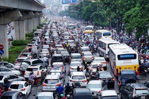 Hà Nội không thu phí xe máy vào nội đô