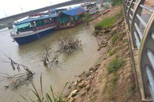 Thanh Hóa: Đê kè sông Mã bị sạt lở nghiêm trọng