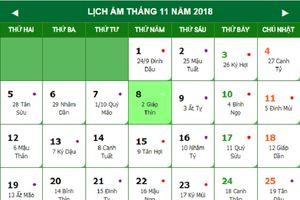 Lịch âm Việt Nam đang nhanh hơn Trung Quốc 1 ngày, vì sao như vậy?