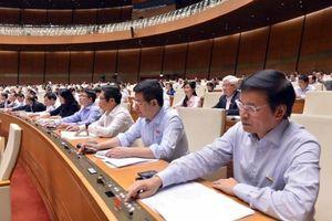 Quốc hội thông qua mức bội chi ngân sách 222.000 tỷ đồng cho năm 2019