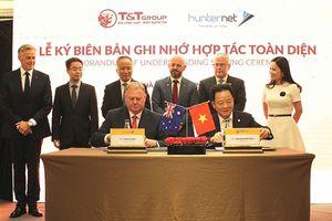 T&T group hợp tác toàn diện với Hiệp hội doanh nghiệp Hunternet