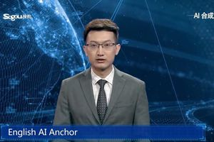 Trung Quốc trình làng trí tuệ nhân tạo dẫn chương trình tin tức