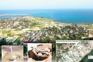 Điểm khảo cổ học Suối Chình - Lý Sơn: Những khám phá mới