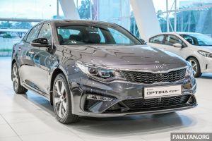 Kia Optima GT facelift 2019 ngầu như xe thể thao