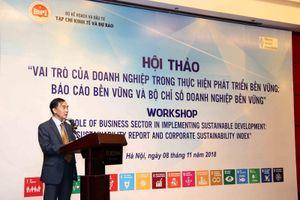 Vai trò của Doanh nghiệp trong thực hiện Phát triển bền vững: Báo cáo bền vững và bộ chỉ số doanh nghiệp bền vững