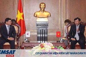 Lãnh đạo VKSND tối cao tiếp Đoàn Luật sư Seoul - Hàn Quốc