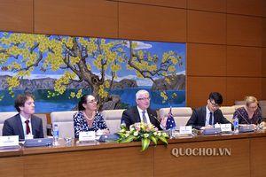 Tổng Thư ký Quốc hội Nguyễn Hạnh phúc tiếp Đại sứ đặc mệnh toàn quyền Australia tại Việt Nam